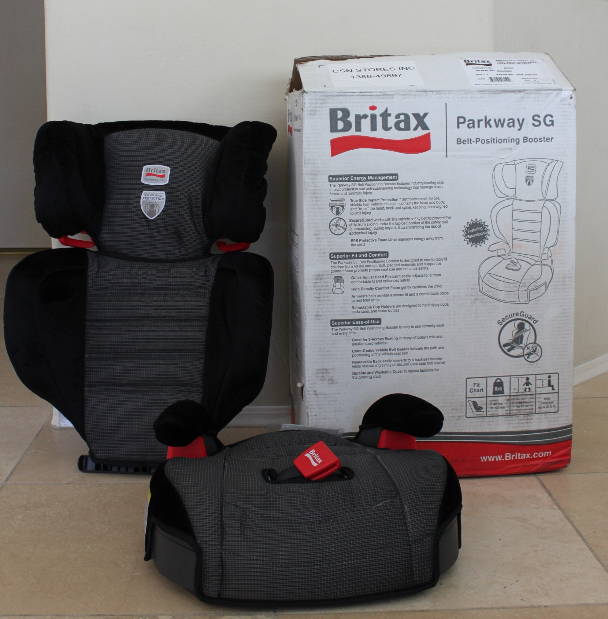 Britax Parkway SG Booster Seat Review - \