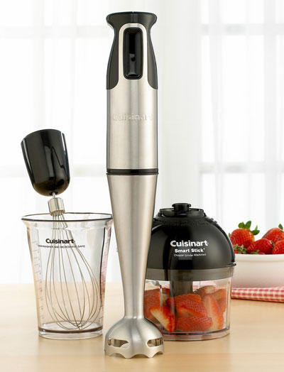 cuisinart csb 77 smart stick hand blender with whisk and chopper attachments deal ectable. Black Bedroom Furniture Sets. Home Design Ideas